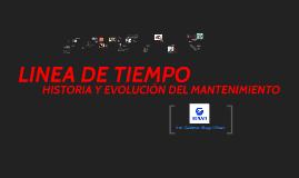 Copy of  linea del tiempo MANTENIMIENTO