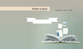 Winter Course