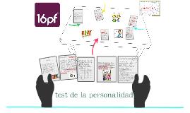 test de la personalidad