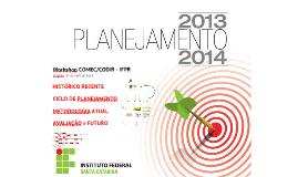 planejamento IFSC no IFPR