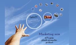 Copy of Opdracht marketingmix