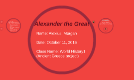 Copy of Alexander the Great