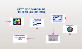 HISTÓRICO DA SÉRIE ISO 9000