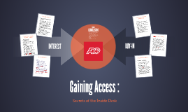 Copy of Gaining Access