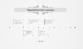 Metered Service Contract