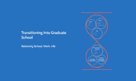 Transitioning Into Graduate School