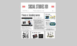 SOCIAL STUDIES 101