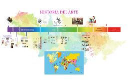 Copy of Copy of LINEA DEL TIEMPO: Historia del Arte