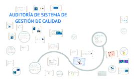 Copy of AUDITORIA DE SISTEMA DE GESTIÓN DE CALIDAD