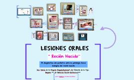 LESIONES ORALES