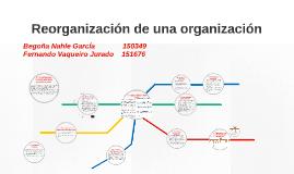 Reorganización de una organización