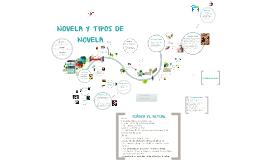 NOVELA Y TIPOS DE NOVELA