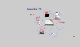 Reinventing HRD