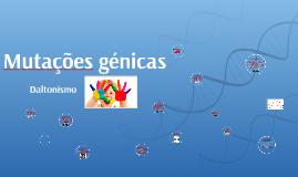 Mutações génicas - Daltonismo