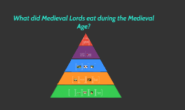Copy of What did Medieval Lords eat during the Medieval Age?