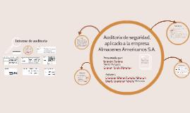 auditoría de seguridad, aplicado a la empresa Almacenes Amer