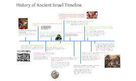 history of ancient israel timeline by mayuko kengaku on Prezi