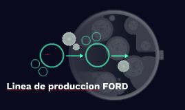 Linea de produccion FORD
