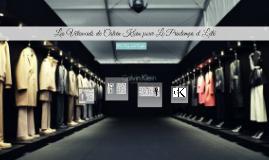 Les Vêtements de Calvin Klein