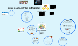 Energy use, diet, nutrition and hydration