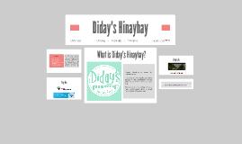 Diday's Hinayhay