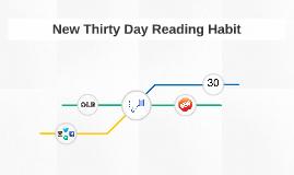New Thirty Day Reading Habit