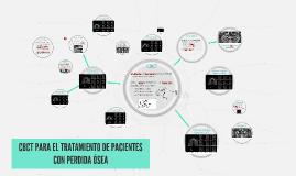 CBCT PARA EL TRATAMIENTO DE PACIENTES CON PERDIDA ÓSEA