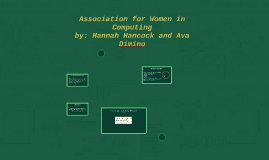 Association for Women in Computing