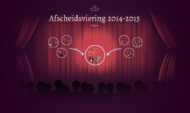 Afscheidsviering 2014-2015