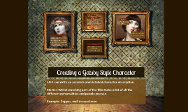 Copy of Creating a Character