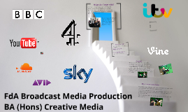 Foundation Degree Overview - FdA Broadcast Media Production
