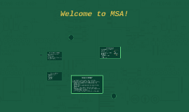 Welcome to MSA- Muslim Student Association!