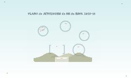 PLANO de ATIVIDADES da BE da ESPA 2013-14
