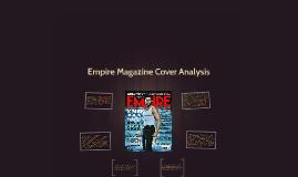 Empire Magazine Cover Analysis