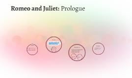 Romeo and Juliet: Prologue