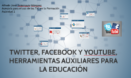 Copy of VENTAJAS Y DESVENTAJAS DE TWITTER, FACEBBOK Y YOUTUBE EN LA