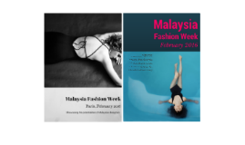 Malaysia Fashion Week 2016