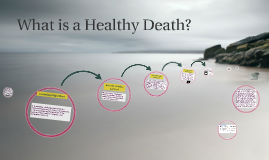 What is a Healthy Death?