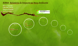 RIMA- Relatório de Impacto ao Meio Ambient