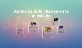 Anuncios publicitarios en la televisión