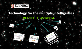 Technology for the multiple intelligences in an ELF classroom.