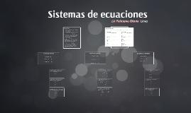 Copy of Sistema de ecuaciones