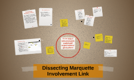 Dissecting Marquette Involvement Link