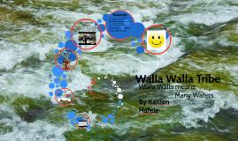 Copy of Walla Walla Tribe
