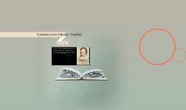 Common Core Literary Analysis