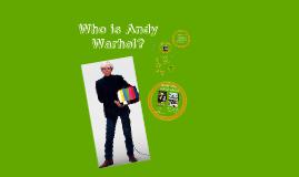 Andy Warhol Demo Lesson