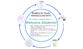 English for Study Abroad Administrative Introduction