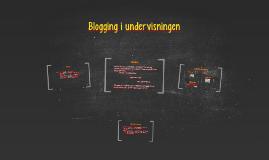 Copy of Blogging i underisningen