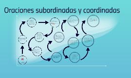 Copy of Oraciones subordinadas