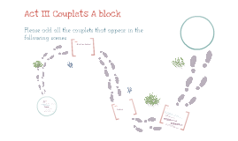 Act III Couplets A block